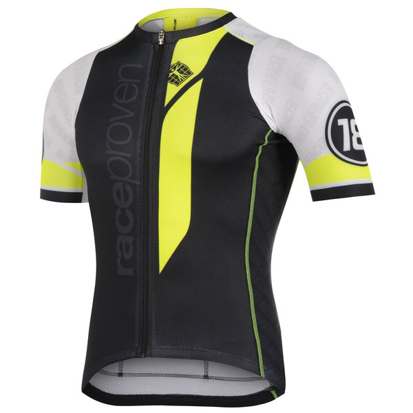 Jersey Ss Race Proven Bodyfit Collar Low 1 Of 3