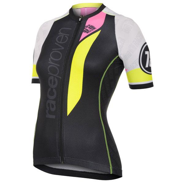 Jersey Ss Race Proven Bodyfit Collar Low Women