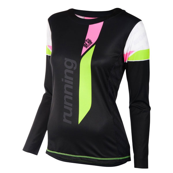 Running Shirt Long Sleeves Women
