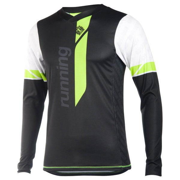 Running T Shirt V Long Sleeves