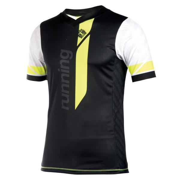 Running T Shirt V Short Sleeves