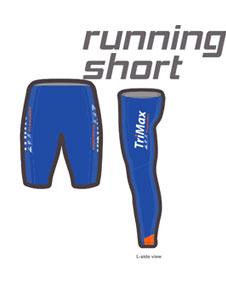 דוגמה למכנסים בכחול