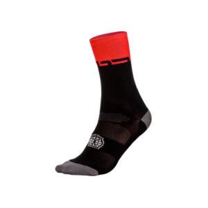 Summer Socks Black Red