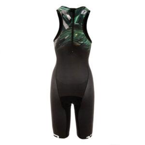 Tri Suit Elite Women Black Flamingo B